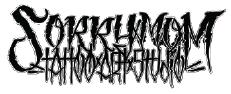 Sorry Mom Tattoos Logo