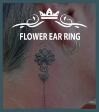 FLOWER EAR RING